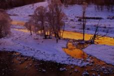 内蒙古阿尔山国家森林公园冬景