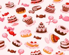 蛋糕甜品矢量文件