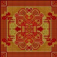 红色针织图案图片