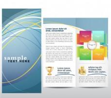 金融投资理财折页设计图片