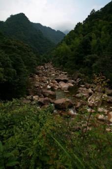 福建大安源黄冈山大峡谷风景