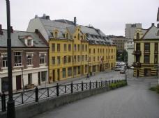挪威安静干净的小城