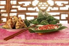 美味的粽子图片