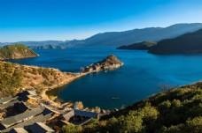 四川泸沽湖风景
