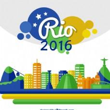 2016巴西运动会素材