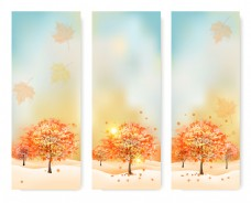 秋天海报设计图片