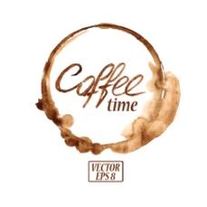 圆环咖啡图片