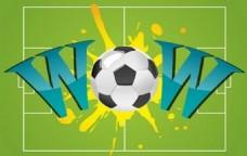 魔兽世界足球I矢量图