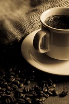 褐色怀旧咖啡摄影图图片