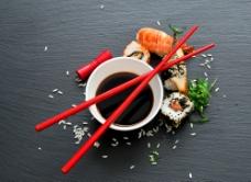 经典日本紫菜卷图片
