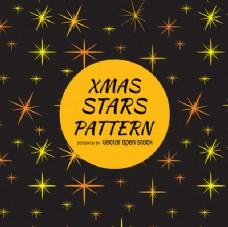 星星闪烁模式的背景