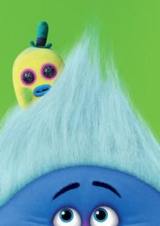 蓝色魔发精灵