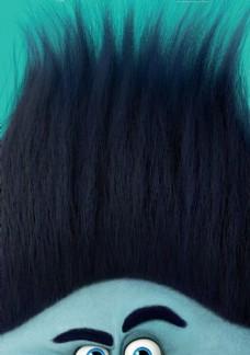 黑色魔发精灵