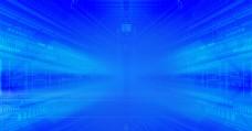 蓝色 科技背景