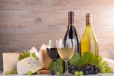 面包与葡萄酒图片