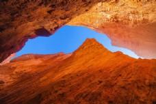 新疆天山库车大峡谷风景