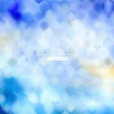 光蓝六角背景图案