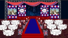 英伦风婚礼主舞台