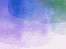 蓝紫色水彩背景纹理