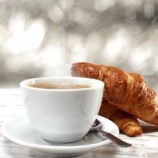 面包与咖啡图片