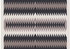 纳瓦霍印第安人图案的水晶眼睛