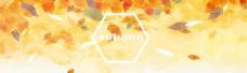秋季背景首页海报