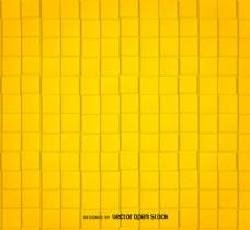 黄色平方抽象模式