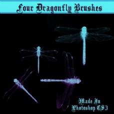 蜻蜓Photoshop笔刷