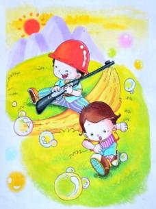 六一儿童节画图片