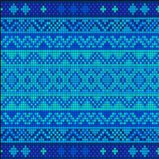 蓝色马赛克背景图片