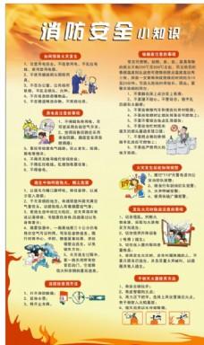 消防知识展板