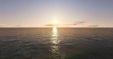 航拍大海视频