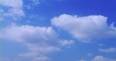 蓝天白云延时摄影