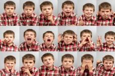 儿童表情图片