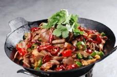 干锅鸡杂图片