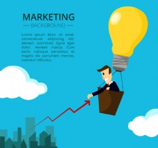 市场营销元素背景