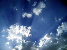 高清海报背景天空太阳云层背景高清蓝色背景