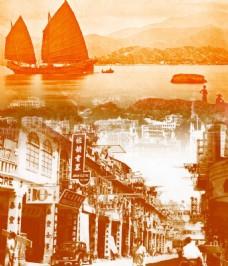 懷舊香港背景