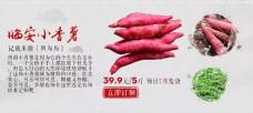 淘宝 海报 红薯