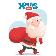 圣诞老人背景设计
