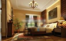 房间3d模型下载