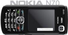 诺基亚N70黑色手机