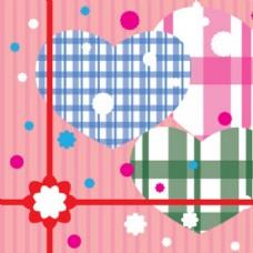 情人节礼物封面插图背景海报图