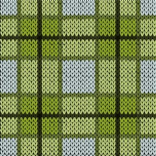 绿色织物纹理背景图片
