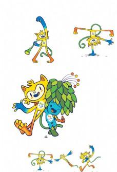 2016里约奥运吉祥物