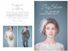 婚礼相册设计模板
