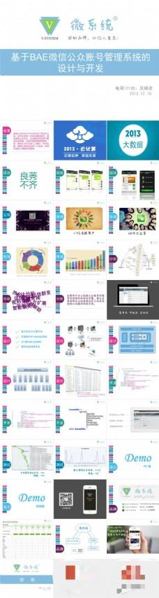 微信公众号市场分析设计开发介绍ppt模板
