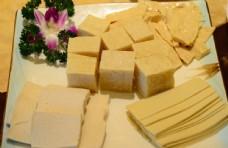 豆腐拼盘图片