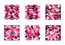免费的粉红迷彩矢量模式