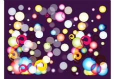 彩色的泡泡图形